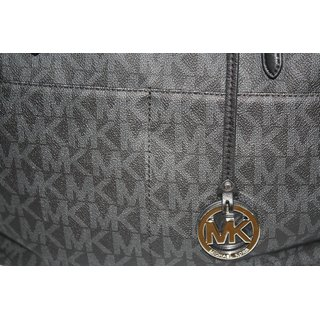 Michael Kors Bedford Large Pocket Tote BLACK