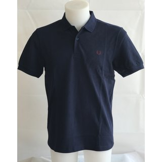 Fred Perry Poloshirt SlimFit M6000-D41 Carbon Blue